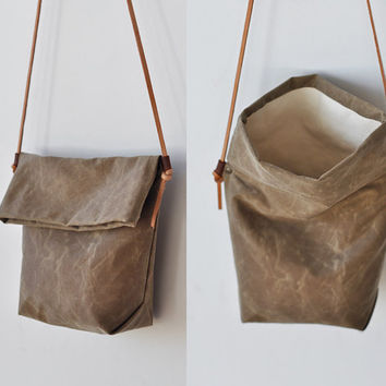 FIELD BAG - tan