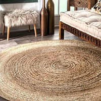 Everett Eco Natural Jute Round Rug