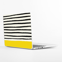 Sunshine and Stripes Laptop Skin