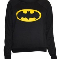 Womens Black Batman Sweater Top:Amazon:Clothing