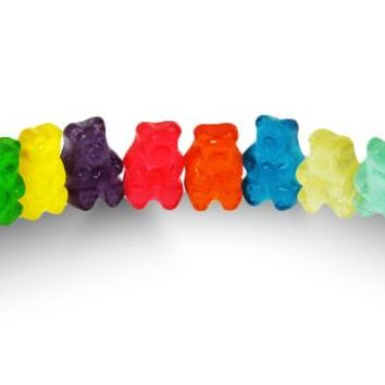 Gummi Bear 12 Flavors - Firm, Assorted - Albanese - Usa - 3 oz
