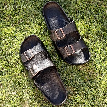 black buckle jandals® - pali hawaii sandals