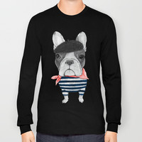 French Bulldog. Long Sleeve T-shirts by Barruf