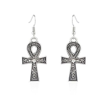 Egyptian Ankh Earring