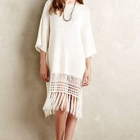Fringed Sweater Dress