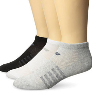 New Balance No Show Lifestyle 3 Pack Pair Socks