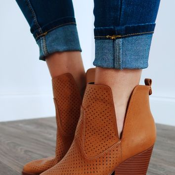 Make Time Booties: Whiskey