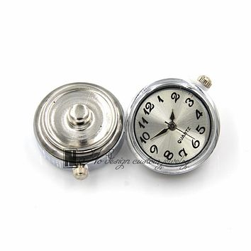 Metal Snap Buttons 18mm for Leather Bracelet Quartz Watch Charms For Women Girl Birthday Party Gift New 2017