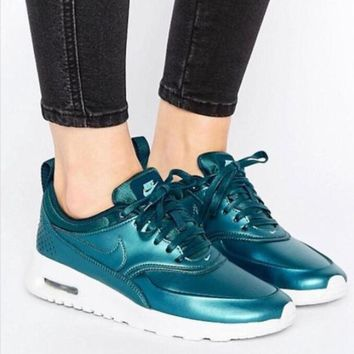 Nike Air Max Fashion Women Men Personality Sport Breathable Jogging Shoes I