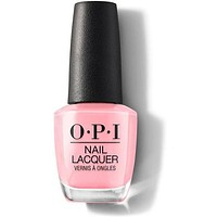 OPI Nail Lacquer - I Think In Pink 0.5 oz - #NLH38