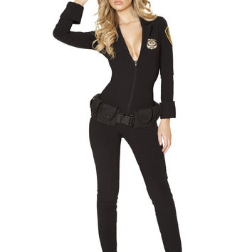 3PC Sexy Law Enforcer Costume