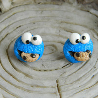 Cookie Monster Studs