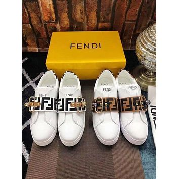 FENDI Fashion Women Casual Running Sport Shoes Sneakers