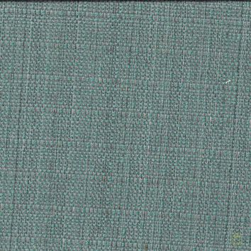 Caribbean Blue Polyester Fabric- Backed