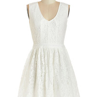 ModCloth Mid-length Sleeveless A-line Promenade to the Party Dress