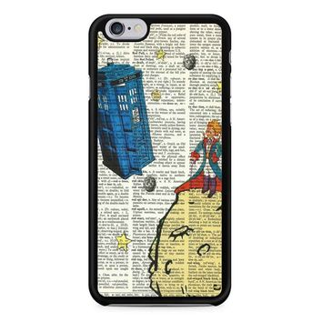 The Little Prince With Tardis iPhone 6/6S Case