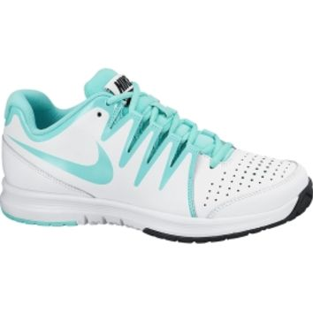 Nike Women's Vapor Court Tennis Shoe - White/Teal | DICK'S Sporting Goods