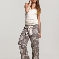 "Juicy Couture ""Victorian Winter"" Vintage Camisole and Flannel Pajama Pants - Women's - Bloomingdales.com"
