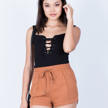 Lightweight Flowy Shorts