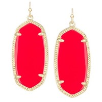 Elle Earrings in Bright Red - Kendra Scott Jewelry