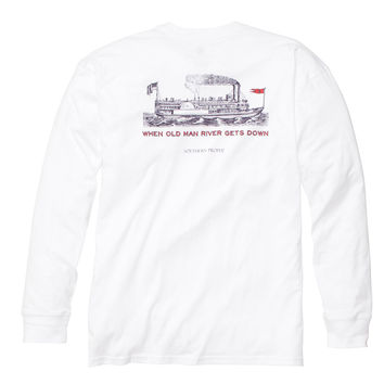 Southern Proper - Long Sleeve Old Man River Tee