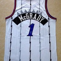 Tracy McGrady 1 Toronto Raptors Swingman Tracy Mc Grady NBA Basketball Jersey
