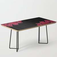 Roses are Red Coffee Table by drawingsbylam
