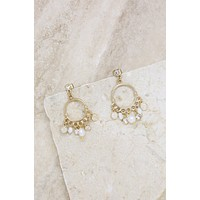 These Moments Pearl Dangle Earring