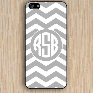 iPhone 5s case Monogrammed Chevron iphone case,ipod case,samsung galaxy case available plastic rubber case waterproof B026