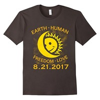 Eclipse August 2017, Earch Human Freedom Love Funny T-Shirt