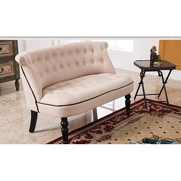 Newly Arrived Fabric Cozy 2-Seater Sofa For Living Room