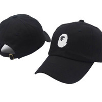 Perfect BAPE  Women Men Embroidery Sports Sun Hat Hip Hop Baseball Cap Hat