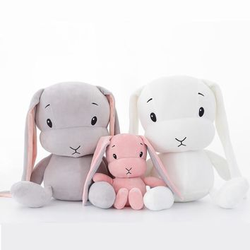 50CM 30CM Cute rabbit plush toys Bunny Stuffed &Plush Animal Baby Toys doll baby accompany sleep toy gifts For kids WJ491