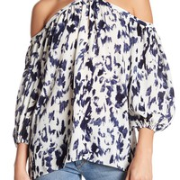 1.State | High Neck Chiffon Blouse | Nordstrom Rack