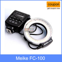 Meike FC-100 for Canon Macro Ring Flash Light MK FC100 for Canon 650D 600D 60D 7D 550D 1100D T4i T3i T3