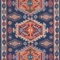 nuLOOM Hand Hooked Tribal Charissa Multi-Color Rug