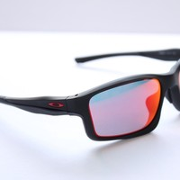 Oakley Chainlink Sunglasses OO9252-09 Matte Black | Ruby Iridium Lens | Asia Fit