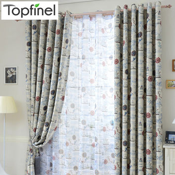 Top Finel 2016 Modern Shade Children Blackout Curtains for Kids Bedroom Living Room Kitchen Window Treatments Drapes Panel