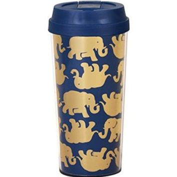 Double Walled Tumbler, Tusk in sun Navy