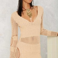 Flook the Label Alexis Crochet Cover-Up