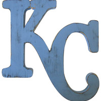 Kansas City Royals Logo Sport Sign Sport Teams KCR Wall Decor Royals Wall Decor Rustic Royals Team Logo Man Cave Decor KCR Team Logo