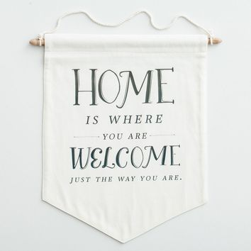 Home Is Where You Are Welcome - Pennant
