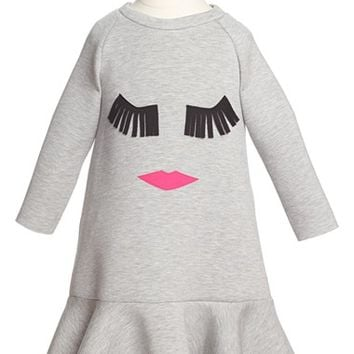 Girl's Halabaloo Eyelash Dress,