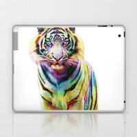 Tiger  Laptop & iPad Skin by Julien Kaltnecker