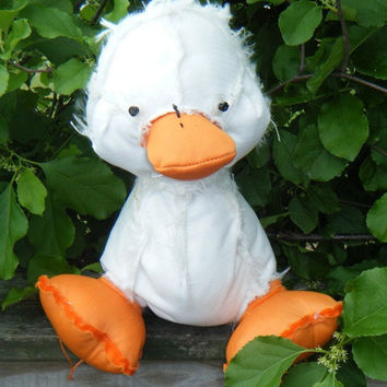 Duck OUTSIDER Zombie. Inside out stuffed animal. Not your average duck. Watch out sharp eyes. On sale was 20.00