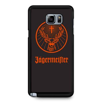 Jagermeister 2 Samsung Galaxy Note 5 Case