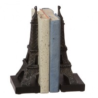 Eiffel Tower Bookend Pair