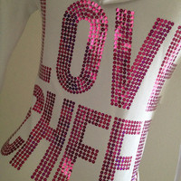 Love Cheer Pink Cheerleading Zip Up Hoodie Jacket
