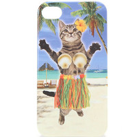 With Love From CA Aloha Cat Hula iPhone 4/4S Case at PacSun.com