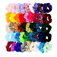Velvet Elastic Hair Scrunchie